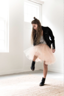 SHORT-TULLE-SKIRT-;-OVER-THE-TOP-SOFT-SALMON