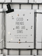 WISH-CARD-GOOD-FRIENDS-ARE-LIKE-STARS