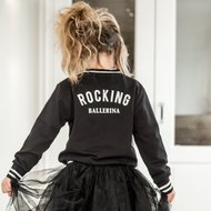 GIRLS-SWEATJACKET-BLACK